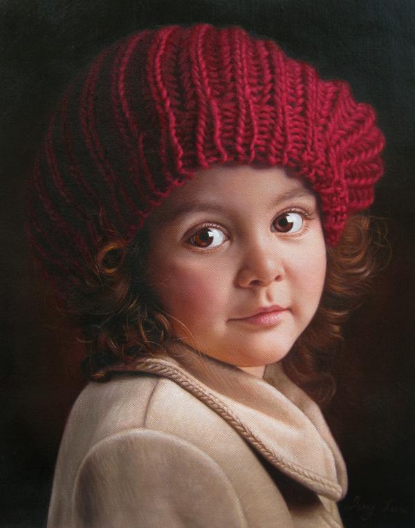 RedGirl-Painting